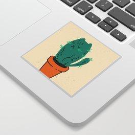 Cat-tus Sticker