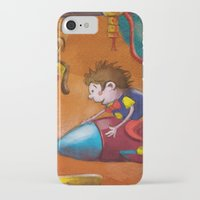 rocket iPhone & iPod Cases featuring Rocket by András Balogh
