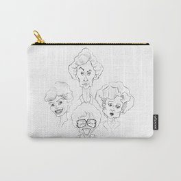 The Golden Girls - Caricature Sketch Carry-All Pouch