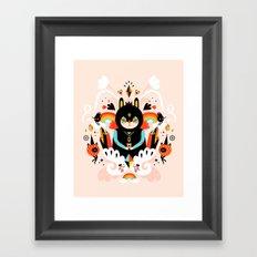 Rainbow Queen Framed Art Print