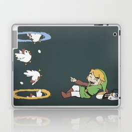 Thinking With Chickens Laptop & iPad Skin