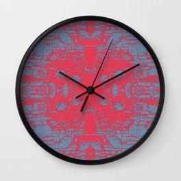 Urban mandala Wall Clock