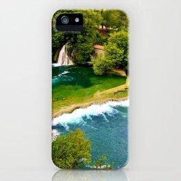 Waterfall of wonders iPhone Case