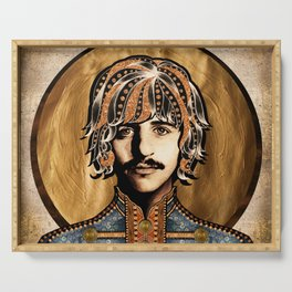 Boho Beatle ( Ringo ) Serving Tray