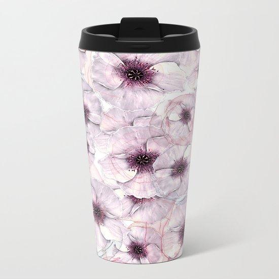 Flower carpet(53). Metal Travel Mug
