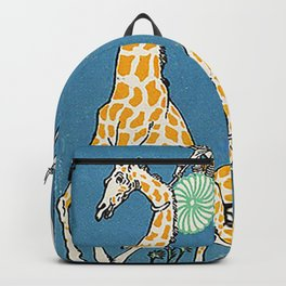 Bloodless Giraffe Hunt (Unblutige Jagd auf Giraffen) 1911 Backpack