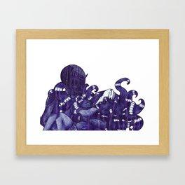 dead & dizzy Framed Art Print