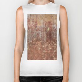 Brown Wall Biker Tank
