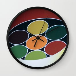 curry Wall Clock