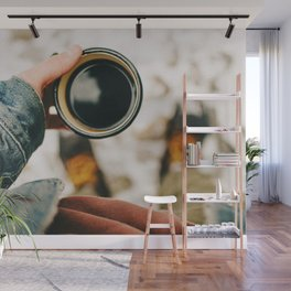 But First, Coffee Wall Mural