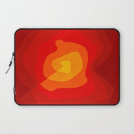 Red Vibrations Laptop Sleeve