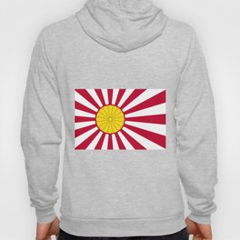 Japanese Flag And Inperial Seal Hoody