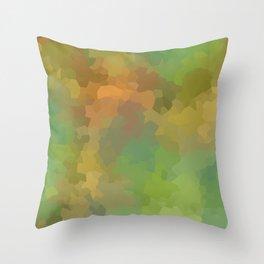 Yellow Brick Road Geometric Throw Pillow