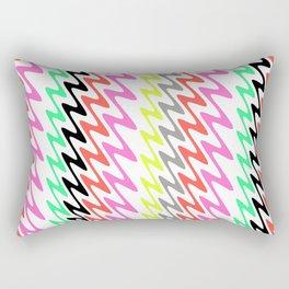 Zig Zag Stripes Rectangular Pillow
