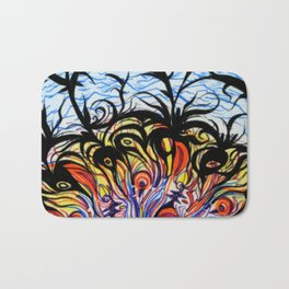 ocean of love Bath Mat