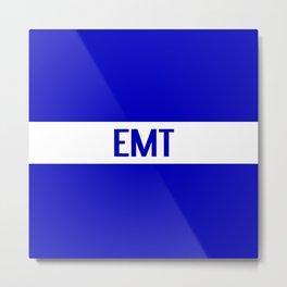 EMT: The Thin White Line Metal Print