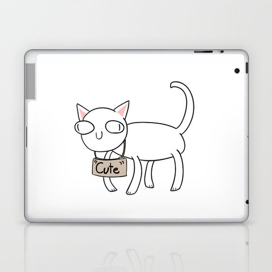 """Cute"" Laptop & iPad Skin"