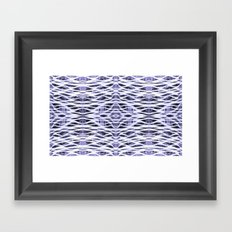 You're Only Coming Through in Waves Framed Art Print