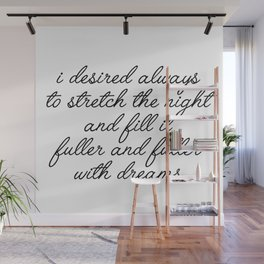 i desired always Wall Mural