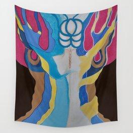 Woman´s tree / EL ARBOL DE LA MUJER Wall Tapestry