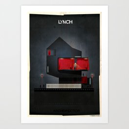 07_ARCHIDIRECTOR_David Lynch Art Print