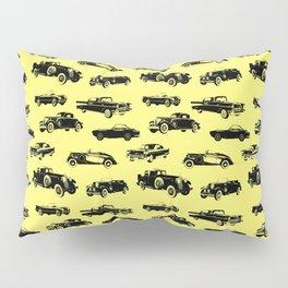 Classic Cars // Yellow Pillow Sham