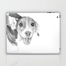 A Story To Tell :: A Beagle Puppy Laptop & iPad Skin