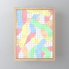 Abstract Admix II Framed Mini Art Print