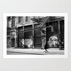 Crosby Street SoHo Art Print