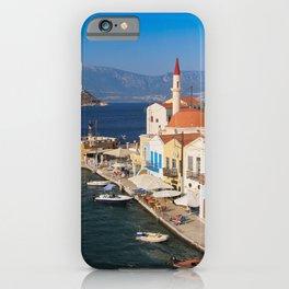 Picturesque Kastellorizo iPhone Case