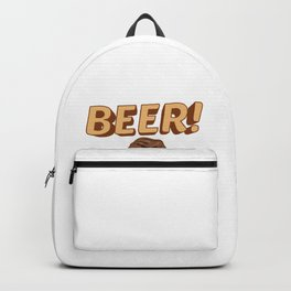 Funny Beer! I Only Drink To Make YOU More Interesting Backpack