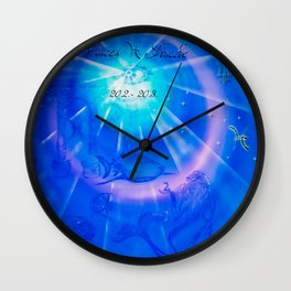 Zodiac sign Pisces Wall Clock
