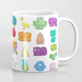 Furrry Monsters Coffee Mug
