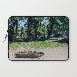 Weathered 'Bangka' Kayak Laptop Sleeve