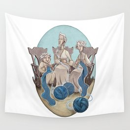 Fate's String Wall Tapestry