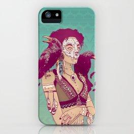 Raven Lady iPhone Case