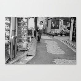 cafe crepe Canvas Print