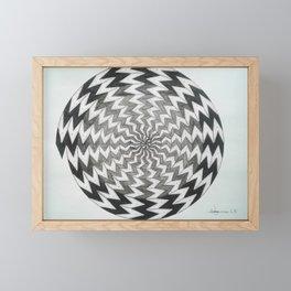 spiral 1 Framed Mini Art Print