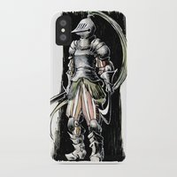 knight iPhone & iPod Cases featuring Knight by Vagelio