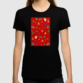 Mexican,colourful pattern art T-shirt