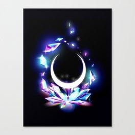 Dark Moon Ginzuishou Canvas Print