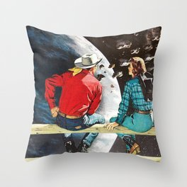Ranch at the End of the World Throw Pillow