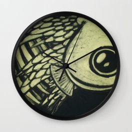 In Shreds Wall Clock