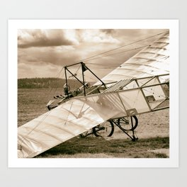 Old Airplane Art Print