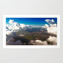 Landscape - Clouds #3 Art Print