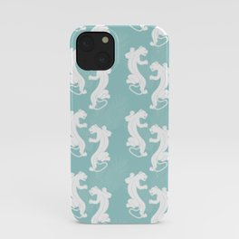 White Panther iPhone Case