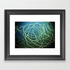 I Floated On My Back 'Till I Fell Down The Stairs Framed Art Print