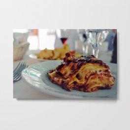 Lasagna from Italy Metal Print