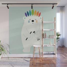 Be Brave Polar Wall Mural