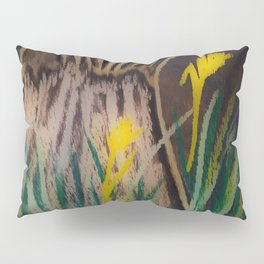 Chalkboard Blooms Pillow Sham